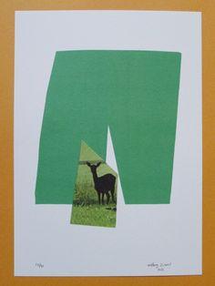 Oh Deer Print | Little Paper Planes