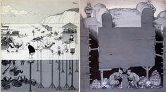 Two cartoons by William Heath Robinson