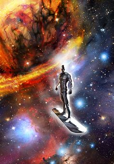 The Silver Surfer - Unknown Artist