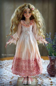 Купить София. Текстильная кукла. Авторская интерьерная кукла. Бохо - кремовый, бохо, авторская кукла