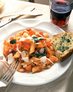 Penne with Tomatoes and Pancetta - Martha Stewart Recipes