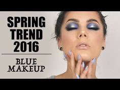 Spring Trend 2016 - Blue Halo Eyes | Linda Hallberg - YouTube