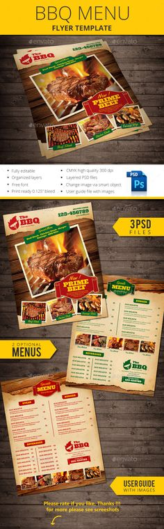 Winter Bbq Party  Party Flyer Flyer Template And Template
