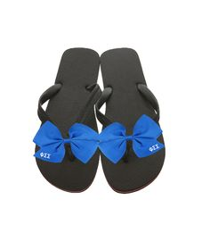 Phi Sigma Sigma Flip-Flops now available! Shop http://manddsororitygifts.com/products/phi-sigma-sigma-flipflops