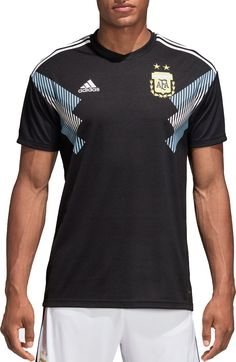 adidas Men s 2018 FIFA World Cup Argentina Stadium Away Replica Jersey 1fd16470e