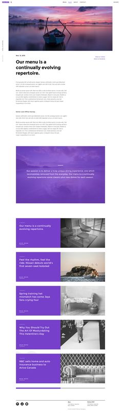 Designed using 16 columns grid system and responsive website to adapt its layout to the screen size of your visitors. All images are smart objects for easy change of design according to Your...
