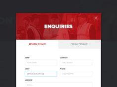 Contact Form Modal