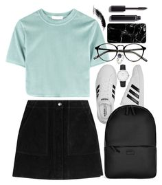 """Untitled #693"" by atarituesday ❤ liked on Polyvore featuring rag & bone, adidas, Rains, CLUSE, Humör and Chanel"
