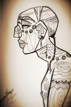 Mayan man. By lauren jansons