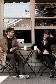 Matt Benstead&Adam Abrahamfor Customellow Fall/Winter 2013