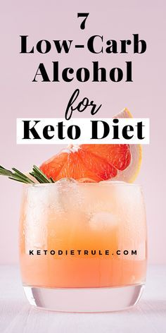 7 best low-carb alcohol cocktail drinks to enjoy! It's not fun to cut carbs, but these keto cocktails can make up for the loss. If you need keto alcohol cocktail ideas, check out these. Best Diet Drinks, Best Healthy Diet, Healthy Balanced Diet, Healthy Mind, Very Low Calorie Foods, Low Calorie Recipes, Keto Recipes, Paleo Meals, Paleo Food