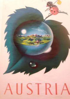 Ladybird travelling Austria, Travelling, Christmas Bulbs, Charmed, Posters, Holiday Decor, Christmas Light Bulbs, Poster, Billboard