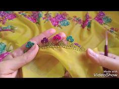 Çıtı pıtı muhtesem renk renk çeyizlik tıg oyası yapımı - YouTube Blouse Neck Designs, Elsa, Make It Yourself, Flowers, Youtube Youtube, Instagram, Check, Tricot, Needle Lace