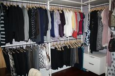 Life Begins at Thirty, Right?: How to Install a Stolmen Closet System