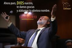 ¡El Señor es todopoderoso! He is the almighty!!
