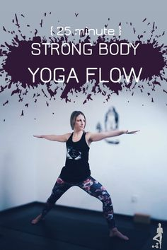 This Strong Body yoga flow peaks at Goddess- we build to one of the most stable & powerful poses in Yoga! A strong body equals a strong mind so check out this Sweat and yoga video You Fitness, Fitness Goals, Losing Weight, Weight Loss, Yoga Poses For Beginners, Strong Body, Yoga Routine, Yoga Videos, Yoga Flow