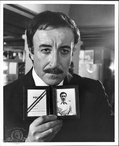 Peter Sellers as Chief Inspector Jacques Clouseau in the 1975 film 'The Return of the Pink Panther.' Directed by Blake Edwards Image supplied by WENN British Comedy, British Actors, British Humour, Martin Scorsese, Hollywood Stars, Old Hollywood, Rosa Panther, Panthères Roses, Cinema Tv