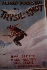 Trysil-Knut (1942) Foreign Movies, This Girl Can, Winter Sports, Vintage Posters, Norway, Skiing, Cinema, Film, Poster Vintage