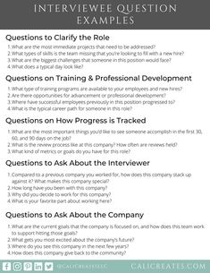Job Interview Answers, Interview Questions To Ask, Job Interview Preparation, Job Interview Tips, Job Interviews, Job Resume, Resume Tips, Job Career, Career Goals