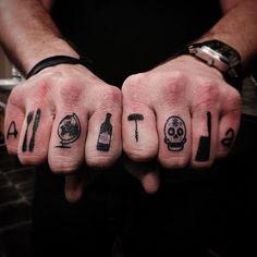 90 Tatuagens no Dedo - Modelos Lindos e Criativos
