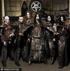 Dimmu Borgir My favorite Black Metal band. Viking Metal, Death Metal, Black Metal, Gothic Metal, Dark Gothic, Dimmu Borgir, Goth Bands, Extreme Metal, Music Pics