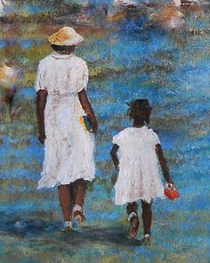 Granny & Me    Southern Art  Larry Kip Hayes