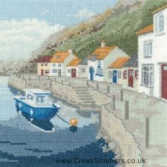 Sheltered Harbour - Peter Underhill Collection Cross Stitch Kit