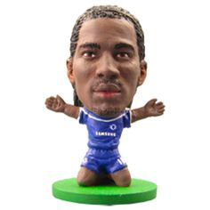 SoccerStarz Chelsea F.C. Didier Drogba - Rs. 499 Official #Football #Figurines from leading clubs across Europe.