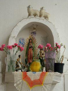 altar in valle De Bravo Mexico
