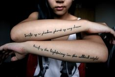 15 Awesome Forearm Tattoo Designs Ideas For Men And Women 30 Unique Forearm Tat. - 15 Awesome Forearm Tattoo Designs Ideas For Men And Women 30 Unique Forearm Tattoo Ideas For Women - Text Tattoo, Forearm Script Tattoo, Inspiring Quote Tattoos, Quote Tattoos Girls, Forearm Tattoo Design, Forearm Tattoos, Tattoo Arm, Tattoo Font Styles, Hip Tattoo Designs