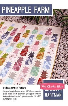 Pineapple Farm Quilt Pattern Elizabeth Hartman #EH-030 - Quilt Patterns  | Fat Quarter Shop
