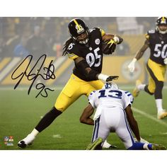 7b7e3ebf470 Jarvis Jones Pittsburgh Steelers Fanatics Authentic Autographed 8