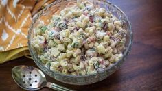 Tastee Recipe Creamy Chicken Macaroni Salad Makes The Picnic Perfect Chicken Macaroni Salad, Creamy Chicken Pasta, Salad Bar, Soup And Salad, Pasta Salad, Tastee Recipe, Appetizer Salads, Appetizers, Vegetable Side Dishes