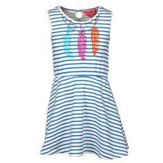 Kinderkleding Mimpi Coole Jurk | Trendy veren | www.kienk.nl