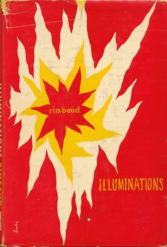 Alvin Lustig, cover for Illuminations by Rimbaud