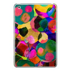 iPhone 6 Plus/6/5/5s/5c Case - Rainbow Spot Ipad Case ($40) ❤ liked on Polyvore featuring accessories, tech accessories, iphone case, iphone cover case, rainbow iphone case, ipad sleeve case, polka dot iphone case and ipad cover case