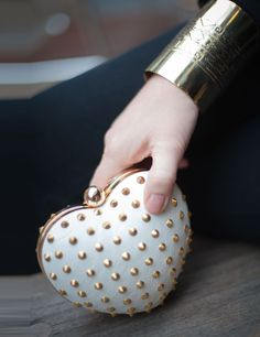 Heart!  (Leather and studs...)