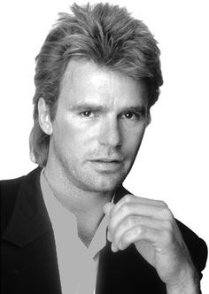 Macgyver (a.k.a. Richard Dean Anderson) - a smart, resourceful, talented, and handsome man.  I love that the entire tv series is available to watch on Netflix.