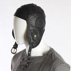 Wild Card Flight Helmet - Leather