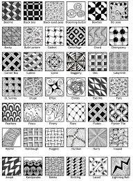 Resultado de imagen de easy zentangle patterns