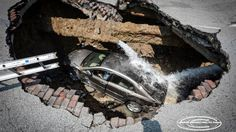 Of all of Earth's phenomena maybe no other occurrence is more terrifying than the sinkhole.