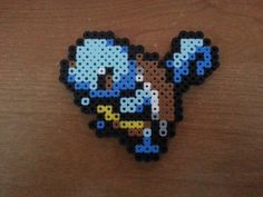 Squirtle Perler Beads Pokemon video game geekery by SongbirdBeauty, $5.00  Check out the latest items in my Etsy store: www.etsy.com/shop/songbirdbeauty