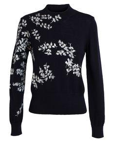 DRIES VAN NOTEN | Maurita Hand Painted Wool Jumper | Browns fashion & designer clothes & clothing