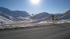 Lindis Pass, New Zealand. Taken by a Kiwi Experience passenger.