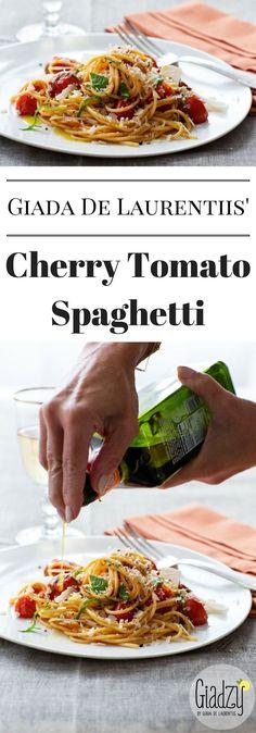 recipe: pasta with cherry tomatoes and basil giada [33]