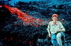 Wisdom from a volcanologist turned nonprofit entrepreneur an katia krafft french volcanologist stock photo 3v5374 science malvernweather Gallery
