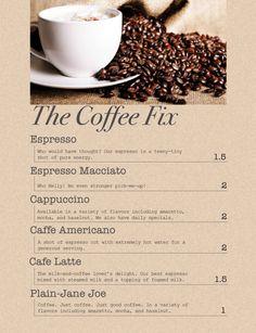 spraygraphic community projects graphic design coffee shop menu design 600x781