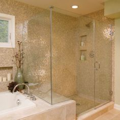 Love the tile and the shower. Drool!