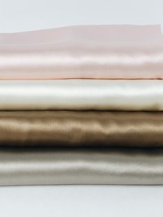 Silk Pillowcases by Dariia Day 100% mulberry silk 25 momme  Pastel colours  Blush Pink  Powder White French Beige Silver Grey  For a beauty sleep bydariiaday.com