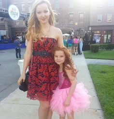 Francesca Capaldi and Dove Camerone having a girls' day out!